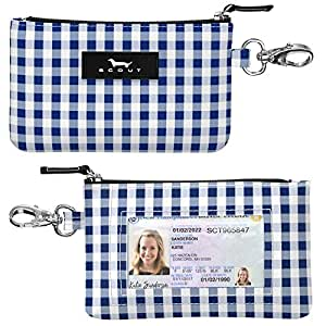 SCOUT IDKase Card and ID Case, Mini Keychain Wallet for Women (Multiple Patterns Available)