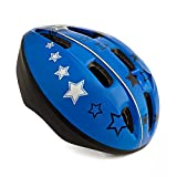 High Bounce Kids Helmet for Cycling Scooter Bicycle Skateboard, All Outdoor Sports Gear, Lightweight (Blue, Large) Review