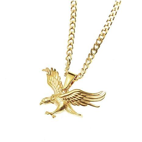 Mypace Colgante de oro y plata 925 para mujer, acero ...
