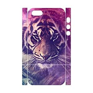 Cool Painting Tiger Custom 3D Cover Case for Iphone 5,5S,diy phone case case539910