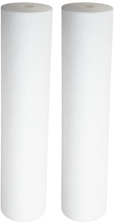 Pentek 155358, DGD-5005-20 Dual Gradient Density Polypropylene Sediment Cartridge (Pack of 2) by Pentek