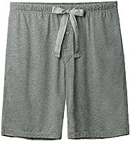 David Archy Men's Soft Comfy Cotton Sleep Short Lounge Short Pants
