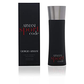 cf1f910f274c Amazon.com   Giorgio Armani Code Sport for Men Eau De Toilette Spray ...