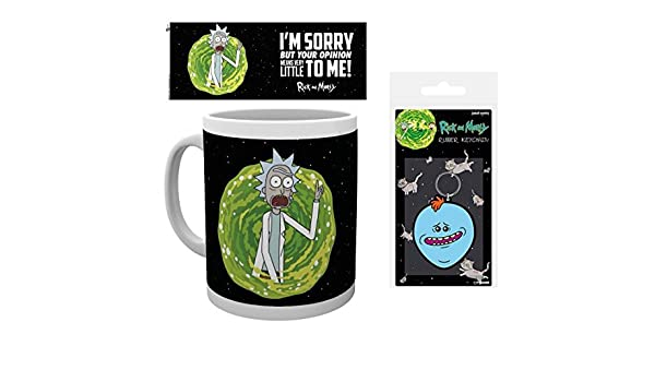 Amazon.com: RICK AND MORTY 1art1, Im Sorry But Your Opinion ...