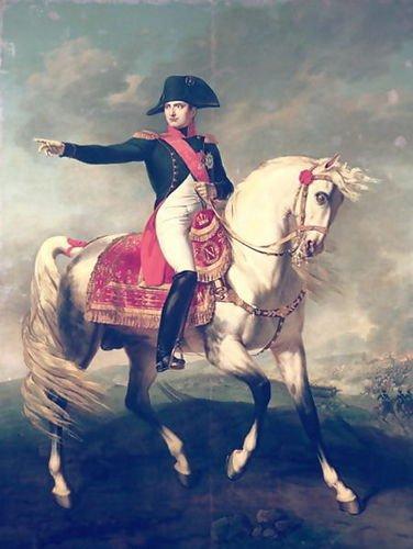 Joseph Chabord Equestrian Portrait of Napoleon I (1769-1821) 1810