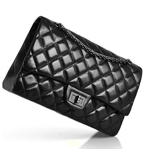 30CM Size hombro negro para Negro Macton al Bolso Large negro mujer pqxz1817n