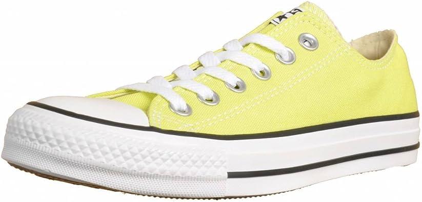 Converse , Baskets Mode pour Femme Jaune Vert