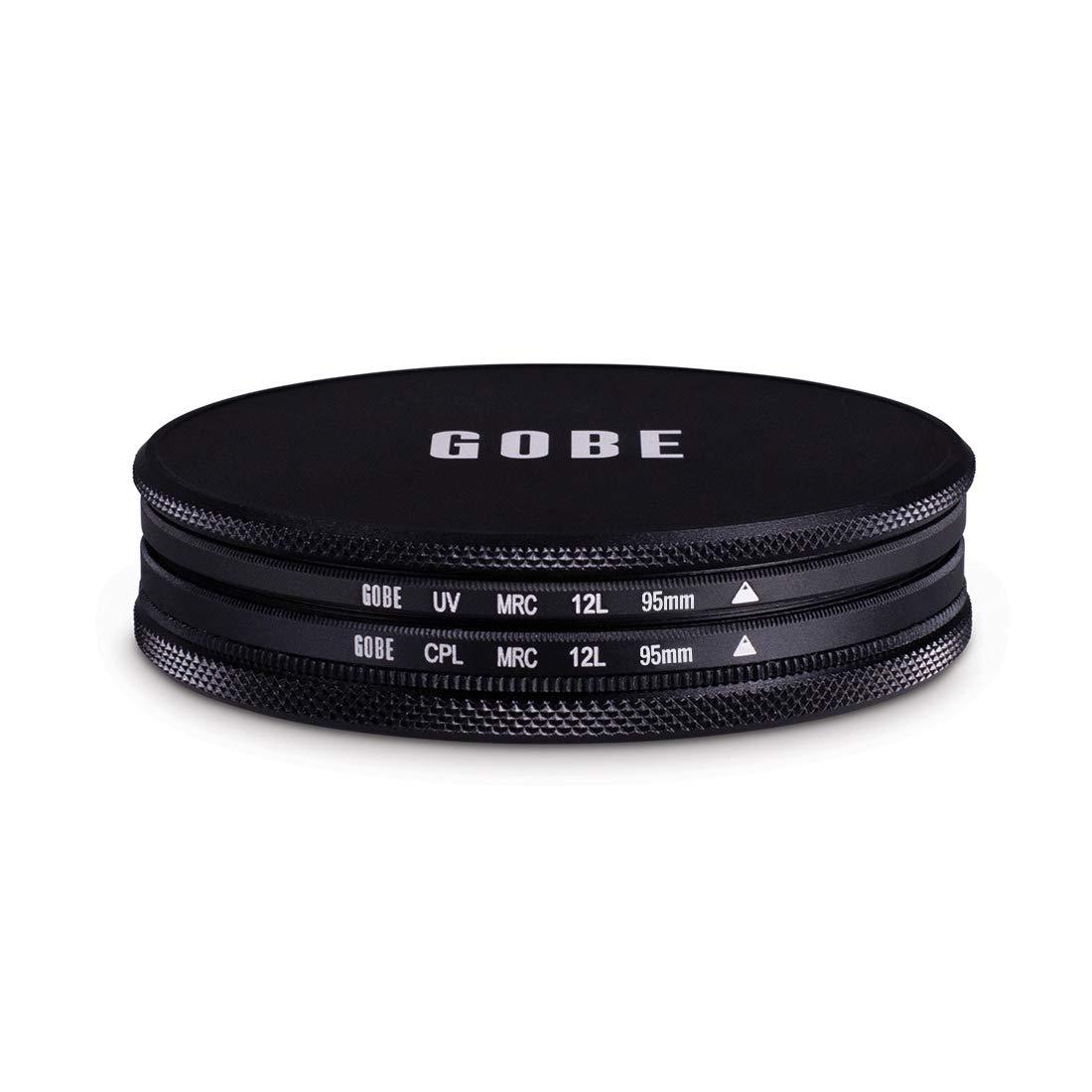 UV CPL Polarizer Gobe Filter Kit 95mm MRC 12-Layer