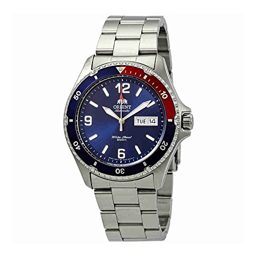 - Orient Men's 'Mako II' Japanese Automatic Stainless Steel Casual Watch, Color:Silver-Toned (Model: FAA02009D9)