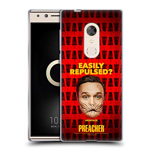 Official Preacher A Face Season 3 Character Art Soft Gel Case for Alcatel 5 (2018)
