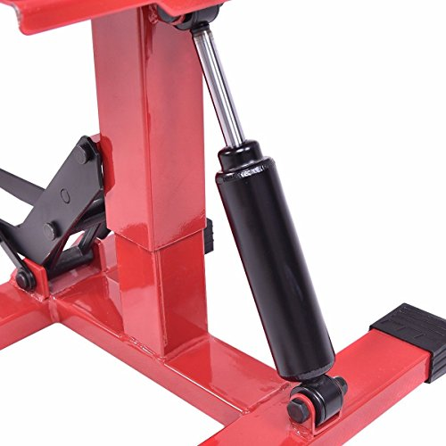 Hydraulic Motorcycle Stand : Goplus hydraulic motorcycle dirt bike lift jack hoist