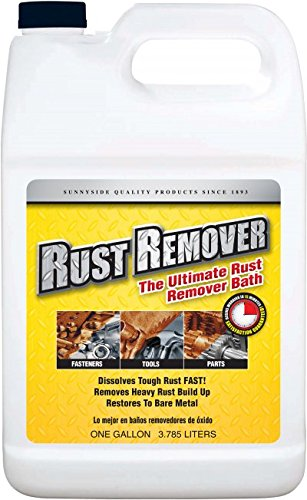 Sunnyside Rust Remover Bath, Gallon, 777G1 (Ready Strip Remover)