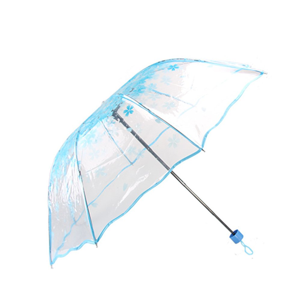 Amazon.com : GEZICHTA Folding Golf Umbrella, Extra Large Windproof Double Canopy Three Folding Travel Umbrellas, Waterproof, Wind Resistant, Does Not Bend ...