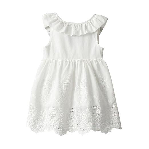 8c391553562e Amazon.com: Hatoys Toddler Princess Sundress, Kids Big Bow Sleeveless  Clothes, Baby Girls Party Tutu Dresses: Clothing