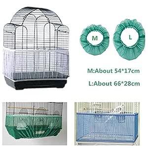 falda de malla para jaulas de pájaros cubierta de malla para ...
