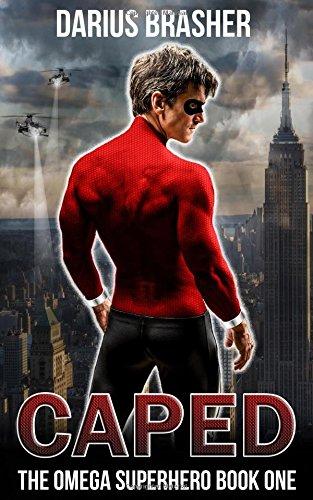 Caped Omega Superhero Book One product image