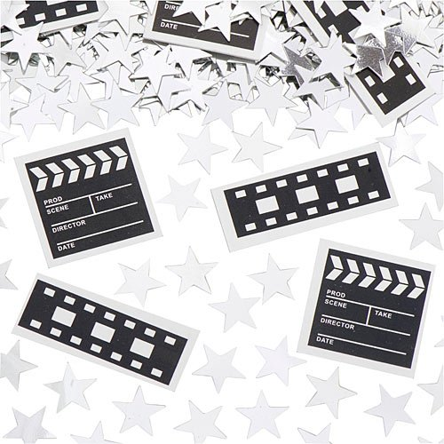 Shindigz Clapboard & Film Roll Confetti190; Oz Pkg