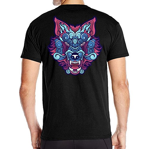 Men's Wolf Dreams Classic Tee Black Size - Mark Jacobs Boots