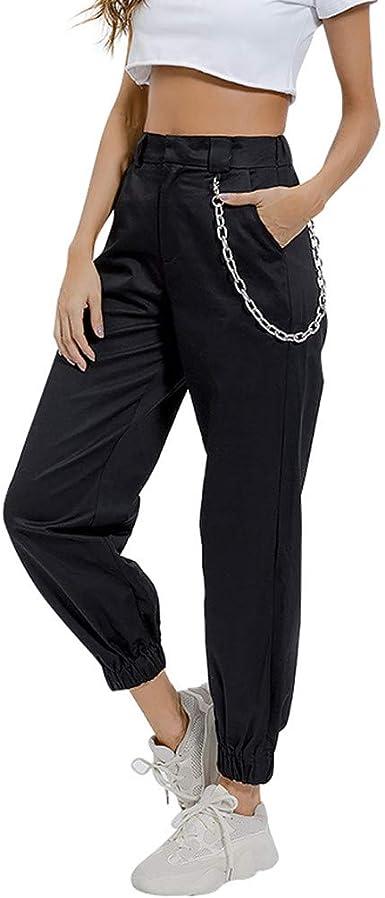 Pantalon noir vert Baggy Unisexe Handmade Coloré Résistant Coton Confortable Pantalon.