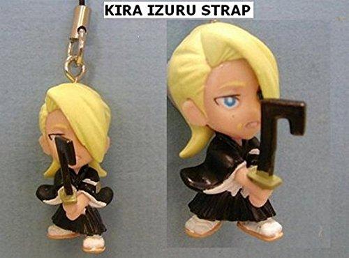 Anime-Bleach-Figure-Cell-Phone-Strap-Keychain-Kira-Izuru