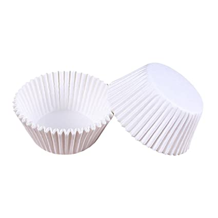 Wangjie 100PCS 100PCS Copa de Horneado Cupcake Moldes Papeles de Colores Decorativa para Magdalenas Pasteles Anti