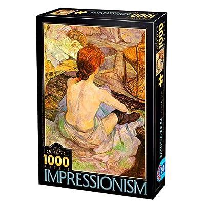 D Toys 66961 Im07 Puzzle Da 1000 Pezzi Tinta Unita