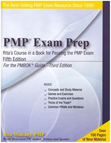pmp exam prep fifth edition rita s course in a book for passing rh amazon com pmp study guide rita pmp exam study guide rita mulcahy