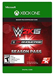 WWE 2K15 Showcase Season Pass - Xbox One Digital Code