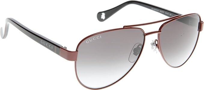 2a01588eb4d GUCCI 5501 C S 0WQT RED BLACK GREEN 51  Amazon.co.uk  Clothing