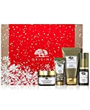 Origins Youthful Cheer Holiday Set Anti-aging Cream,cleanser,serum,eye Cream