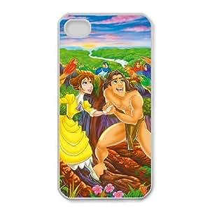 iphone4 4s Phone Case White Tarzan Jane Porter VF6617423