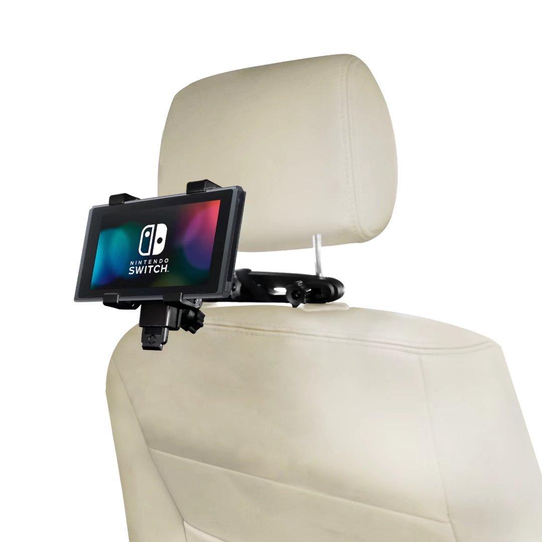 Aelfox Switch Car Mount Headrest Holder for Nintendo Switch/iPhone 7, 6s plus, iPhone6/Huawei Honor/Samsung Galaxy S8/iPad mini