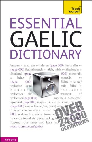 (Essential Gaelic Dictionary: A Teach Yourself Guide (TY:)