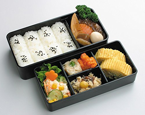 kls9 men 39 s lunch bento box double with bag skater kitchenup. Black Bedroom Furniture Sets. Home Design Ideas