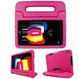 LG G Pad F2 8.0 Case/LG G Pad X2 8.0 Plus Case, SIMPLEWAY Kid-Proof Case Protective Cover Fit Sprint LG G Pad F2 8.0 LK460 / T-Mobile LG G Pad X2 8.0 Plus V530 8'' Tablet 2017, Rose