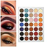 Beauty Glazed Eyeshadow Palette Pigmented Colors