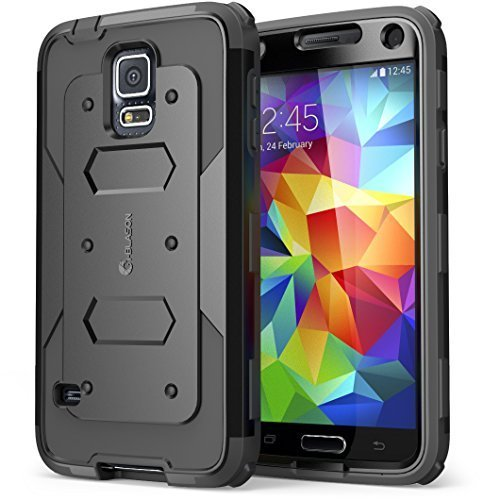 Galaxy S5 Case, i-Blason Armorbox Dual Layer Hybrid Full-bod