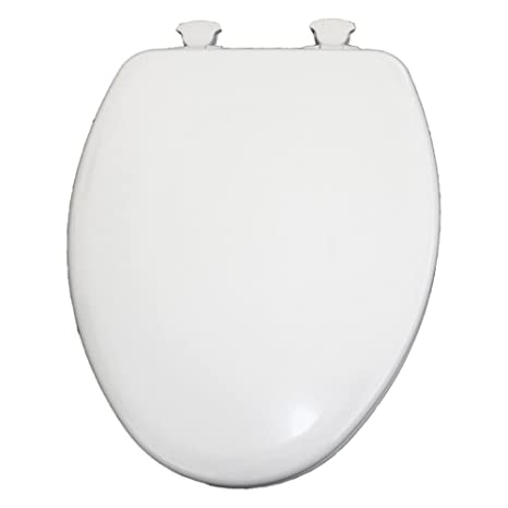 Fantastic Round Closed Front Plastic Toilet Seat Next Step White Theyellowbook Wood Chair Design Ideas Theyellowbookinfo