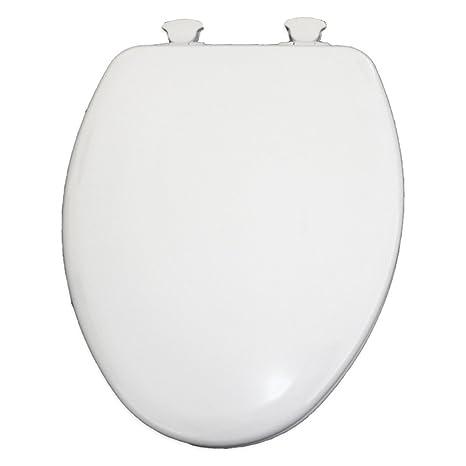 Outstanding Round Closed Front Plastic Toilet Seat Next Step White Creativecarmelina Interior Chair Design Creativecarmelinacom