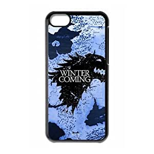 Game of Thrones iPhone 5c Cell Phone Case Black Phone cover W9296614