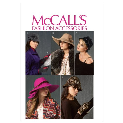 McCalls Patterns Gloves Sewing Template