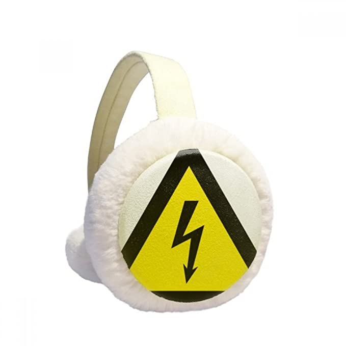 Amazon.com: Warning Symbol Yellow Black Electric Shock Triangle ...