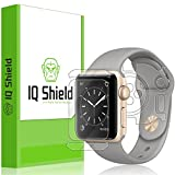 Apple Watch Series 2 Screen Protector (38mm), IQ Shield LiQuidSkin Full Body Skin + Full Coverage Screen Protector for Apple Watch Series 2 HD Clear Anti-Bubble Film - with