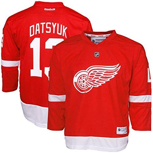 Pavel Datsyuk Detroit Red Wings NHL Kids Replica Jersey Size (Kids 4- 7)