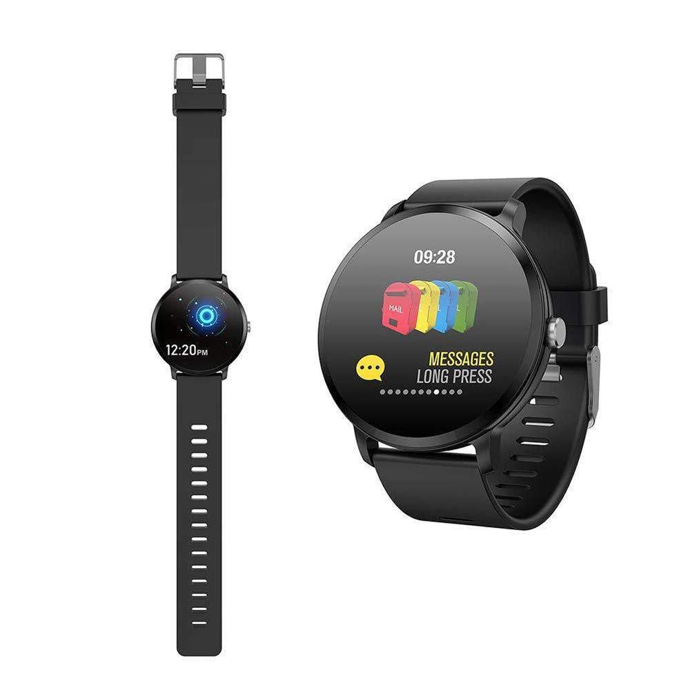 Amazon.com : JiiJian V11 Smart Watch with Blood Pressure ...