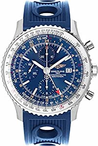 Breitling Navitimer World Blue Dial Men's Watch A2432212/C651-205S