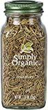 Simply Organic Rosemary Leaf, Whole   Certified Organic   Kosher Certified   1.23-Ounce Glass Bottle