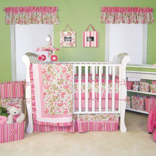 - Paisley Park 4 Piece Crib Bedding Set by Trend Lab
