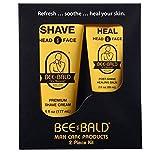Bee Bald Skin Care Kit, 2 Piece