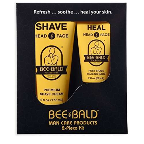 Bee Bald Skin Care Kit, 2 Piece by Bee Bald